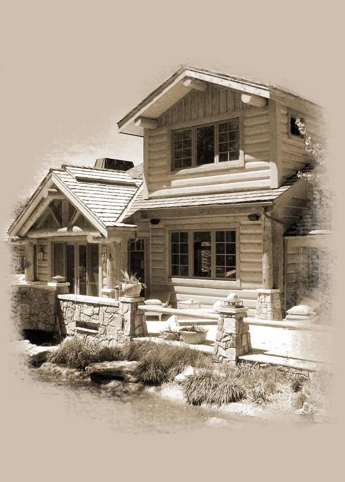Tss Inc Replacing Rotted Logs New Log Home Finishing Company